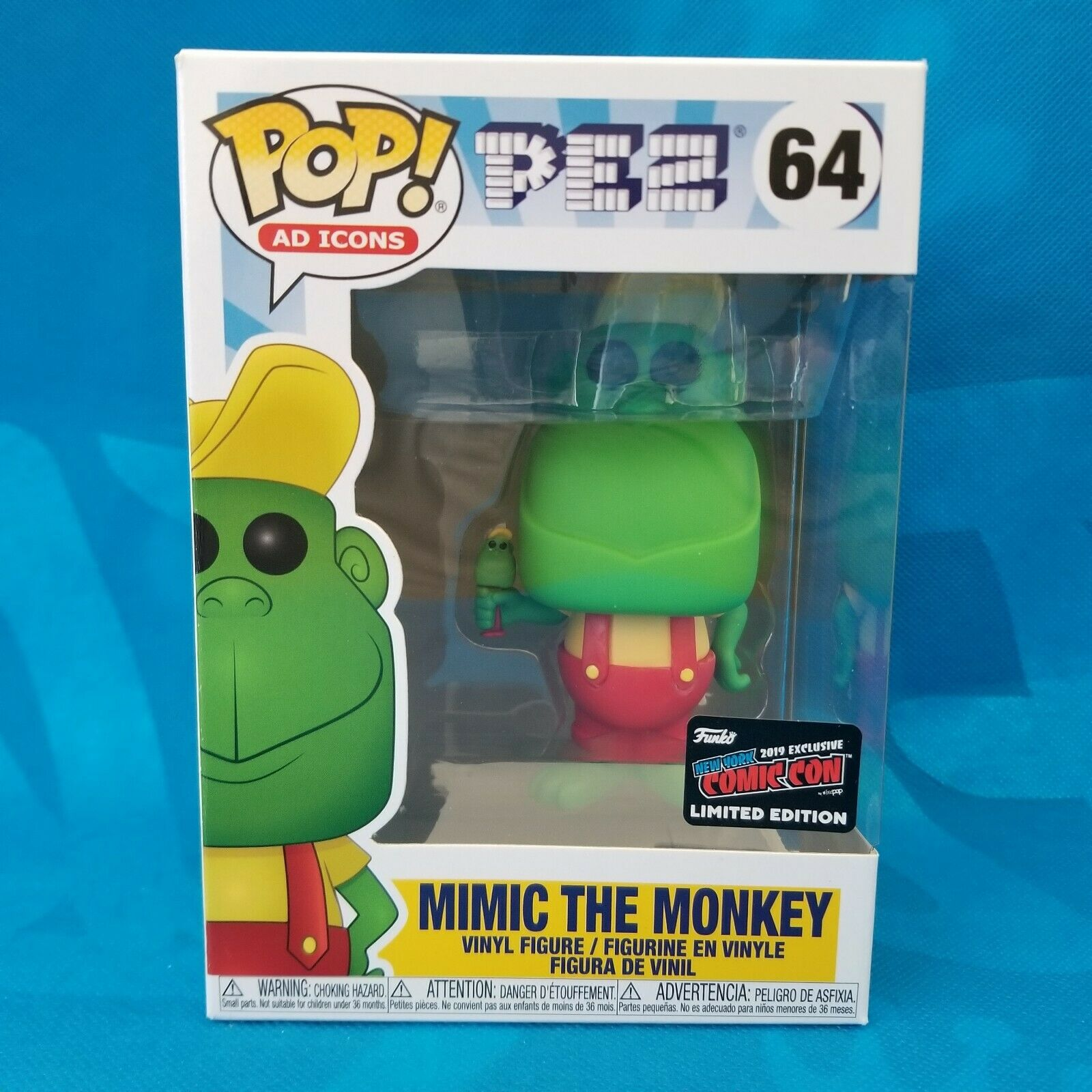 Funko POP Ad Icons Mimic the Monkey - #64: NYCC Exclusive